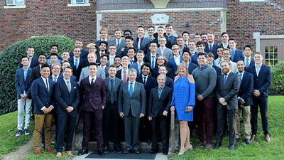 Image for Juan Manuel Santos visits DePauw Chapter