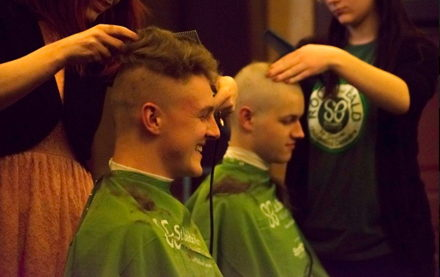 Image for Beta Sigma Braves the Shave