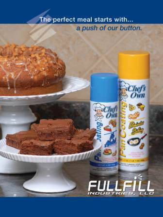 FFI Sales Kit Cover baked goods and cooking spray