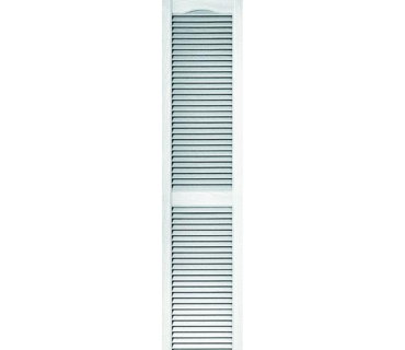 STANDARD LOUVERED SHUTTERS-WHITE