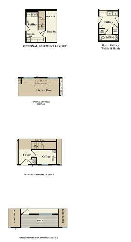 Second Floor Blueprint for Roosevelt