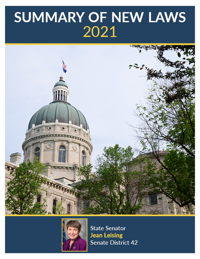 2021 Summary of New Laws - Sen. Leising