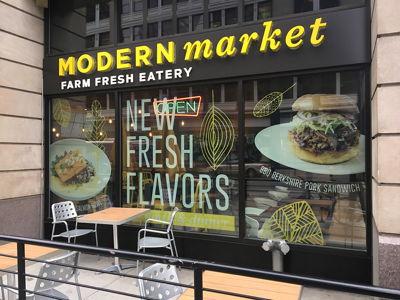 Modern Market Fresh Window Graphics