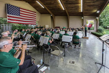 Greater Greenwood Community Band Outdoor Concert