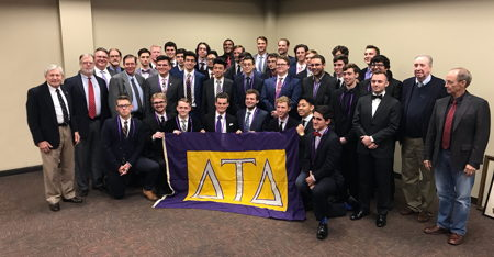 Delt Returns to University of Louisiana at Lafayette with Epsilon Psi Crescent Colony