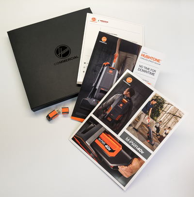 Hoover Promotional Product Package