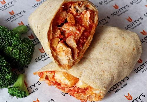 Chicken Parmesan Wrap