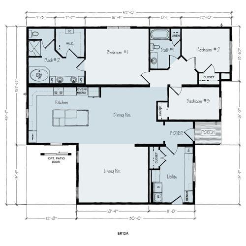 Floorplan of Avery - Ranch