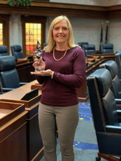 Houchin named Legislator of the Year by The Arc of Indiana