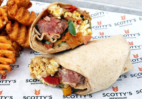 Steak & Eggs Wrap
