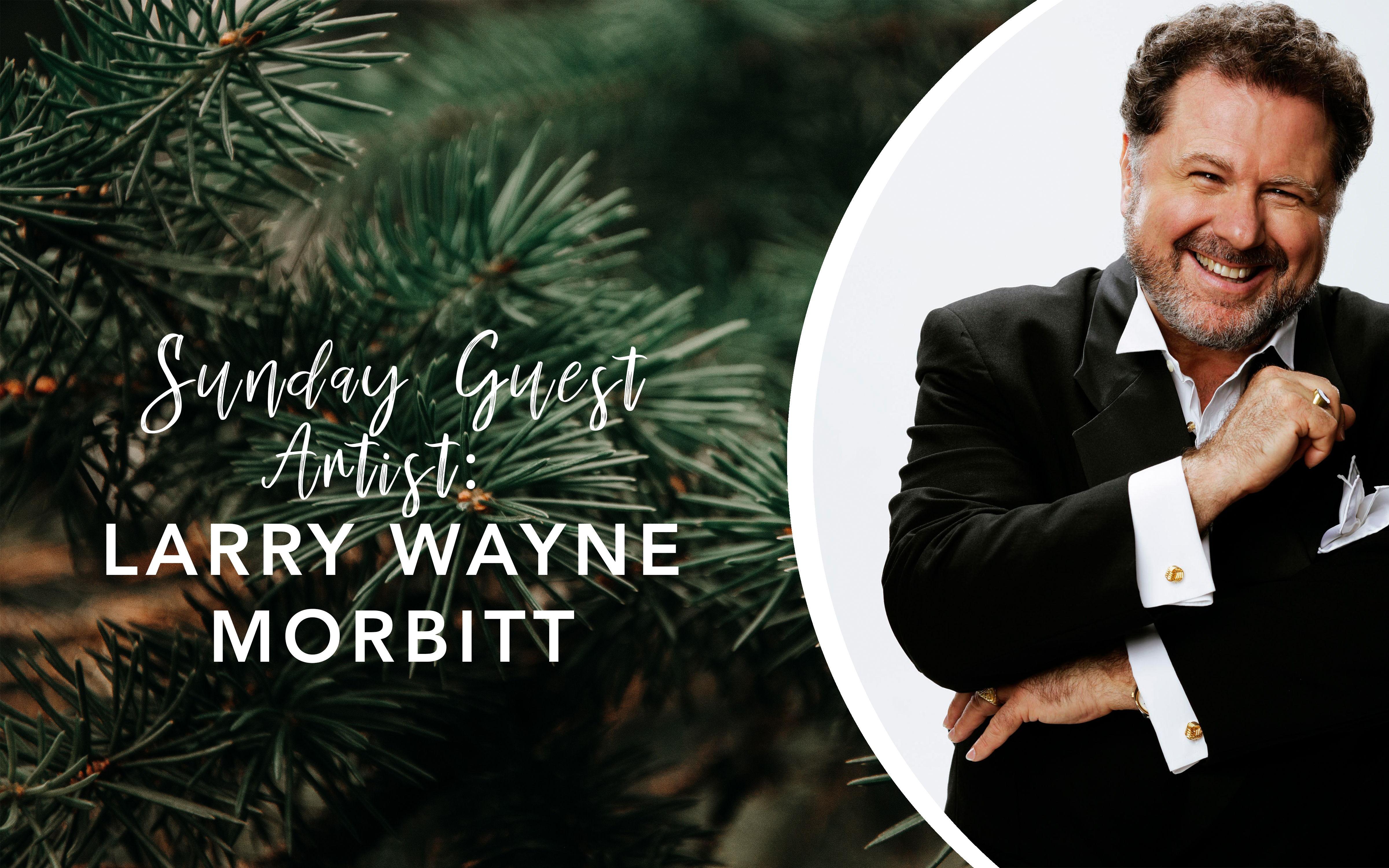 Image for Sunday Guest Artist Larry Wayne Morbitt
