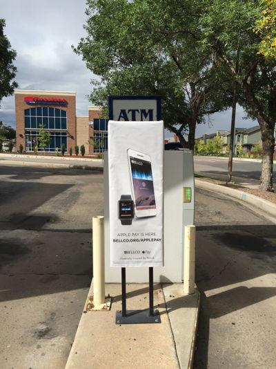 Outdoor Parking Lot Drive Thru Signage