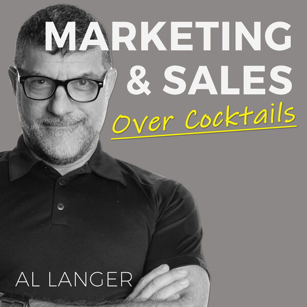 marketing and sales over cocktails image