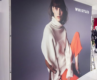 Whistle NYC SEG Fabric Graphic