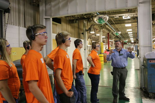 Batesville-area Businesses Host Second Annual Manufacturing Camp for Students