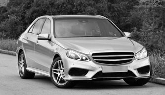 Mercedes Benz monochrome