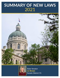 2021 Summary of New Laws - Sen. Brown