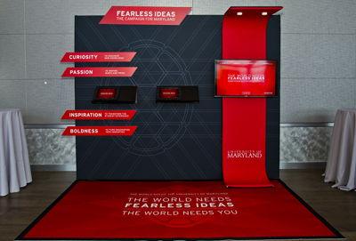 Sales - Exhibit Floor Graphic and Backdrop