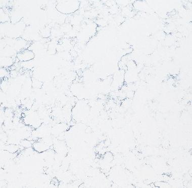 Optional Quartz Countertop - Blue Carrara