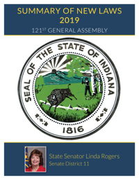2019 Summary of New Laws - Sen. Rogers