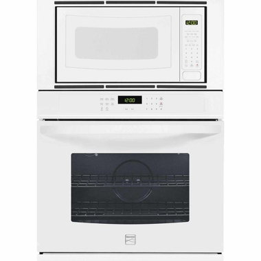 KENMORE 30″ WALL OVEN/MICROWAVE- WHITE