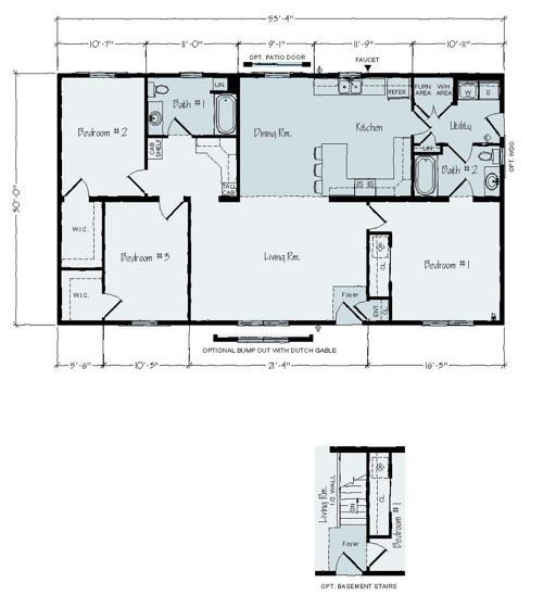 Floorplan of Townsland