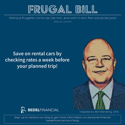 Image for Frugal Bill - Car Rental Savings
