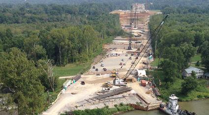 Image for Ohio River Bridges Project Construction