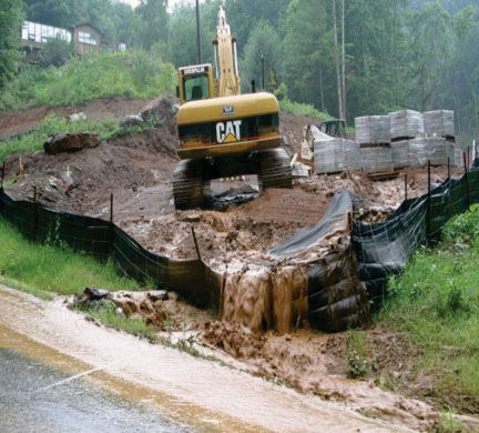 Stormwater construction image