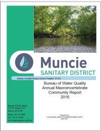 Cover of Macroinvertebrate (Aquatic Insect) and Mussel Community Report 2016