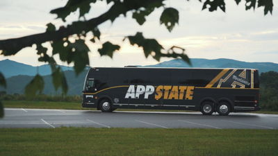 Appalachian University Bus Wrap