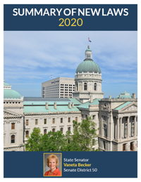 2020 Summary of New Laws - Sen. Becker
