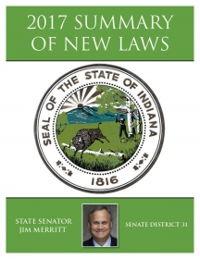 2017 Summary of New Laws - Sen. Merritt