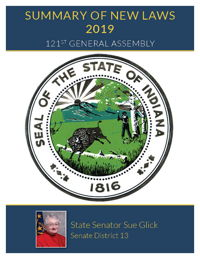 2019 Summary of New Laws - Sen. Glick