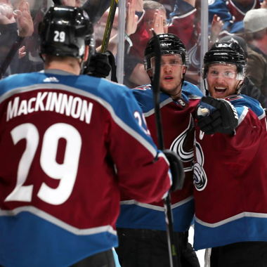Image for Avalanche rally for OT win in Game 4 against Flames