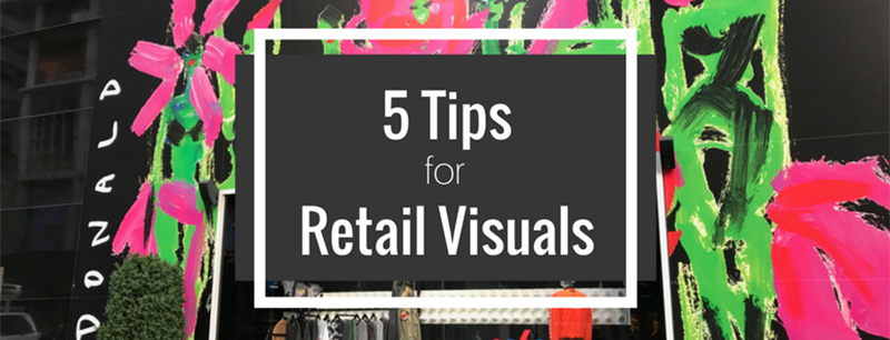 Image for 5 Pro Tips in Retail Visuals