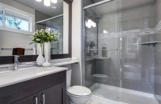 Image for Tricks to Help Create an Illusion of Space in a Small Bathroom
