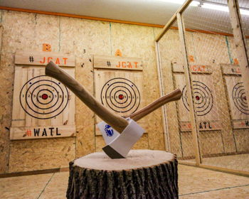 You've Got to Try Axe Throwing