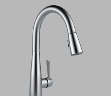 Single Handle Pull-Down Kitchen Faucet – Brushed Nickel