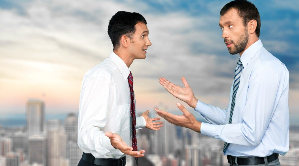 Arguing, Conflict, Business.