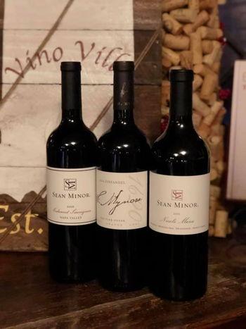 Sean Minor Wine Tasting