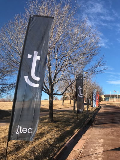 Rebranding TTEC Outdoor Flags