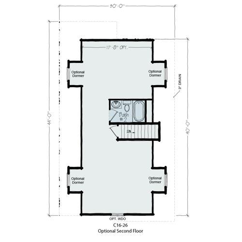 Floorplan of Huron Series