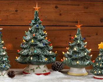 Paint a Vintage Christmas Tree