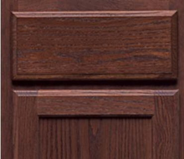 SPRING VALLEY OAK PECAN CABINET
