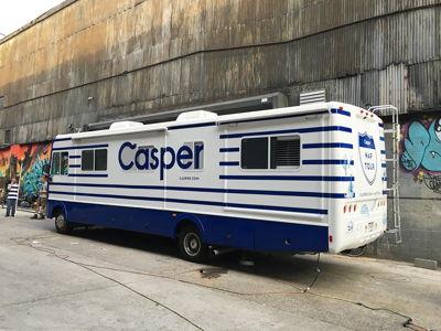 Casper Nap Tour RV Spot Graphics