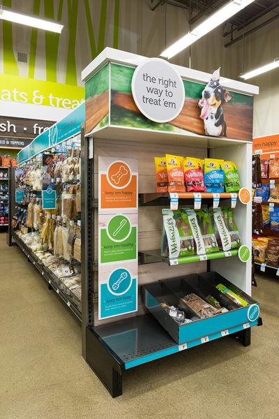 Pet Store Dimensional End Cap