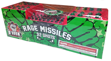 Image for Rage Missiles 92 Shots