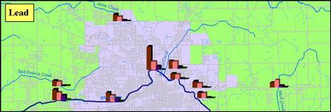 BWQ Lead Map image