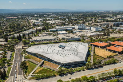 This landmark project in Santa Clara, CA is 500,000 sq. ft. in size and has two levels of subterranean parking for 1500 vehicles and two levels of office space above ground. This unique triangular-shaped building, designed with a major focus on the seismic concerns for this Northern California geographical region, required just over 50,000 CY of structural concrete. Approximately 32,000 CY utilized 50% supplemental cementitious materials (SCMs) — with at least half of this consisting of ground, granulated blast furnace slag. The NVIDIA building is supported by a foundation that ranges from 2.5 to 3 feet in thickness and 40-foot-long steel braces that make up the buckling-restraining braces – a design approach that assists in resisting lateral forces during earthquakes, and steel cores encased in concrete.  The top-level parking and the office-level slabs were post-tensioned decks that consisted of high early strength concrete and over five miles of cables.